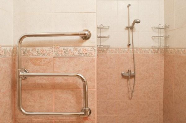 Central Hostel, душ