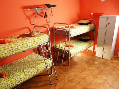 Хостел Транссибирь в Барашевском переулке в Москве, четырехместная комната