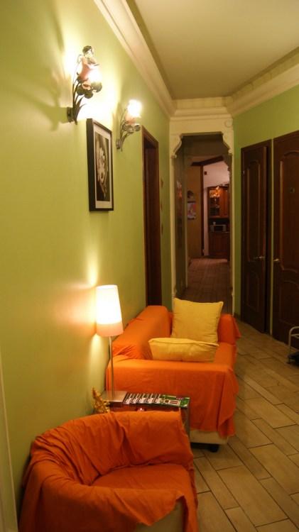 HM Hostel Moscow в Малом Афанасьевском переулке в Москве, комната отдыха