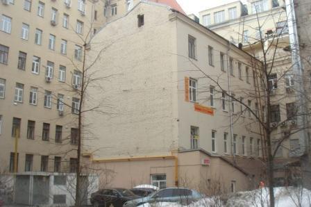Хостел Булгаков на Арбате, главный вход