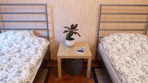 Хостел День и Ночь в Лучниковом переулке в Москве, двухместная комната