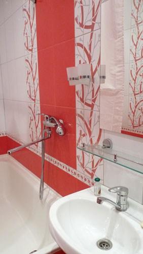 Хостел День и Ночь в Лучниковом переулке в Москве, ванная комната